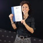 Chiara with WSET Diploma
